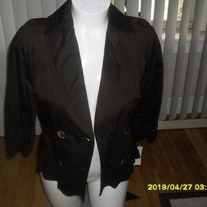 New Brown Bandolino Jacket Size 10